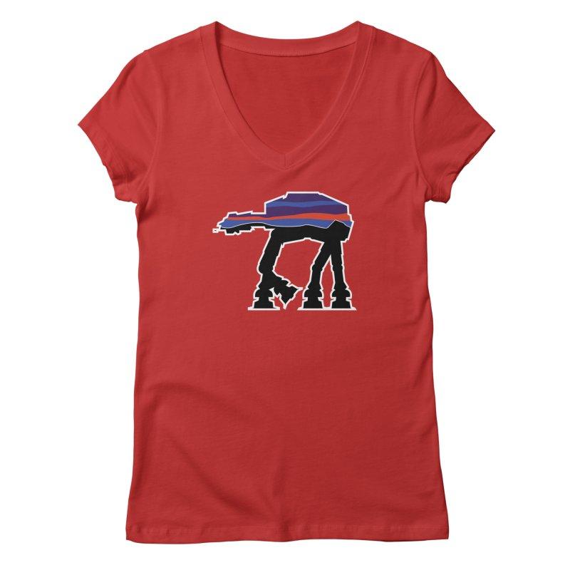 Walking thing.. Women's Regular V-Neck by Mike Hampton's T-Shirt Shop