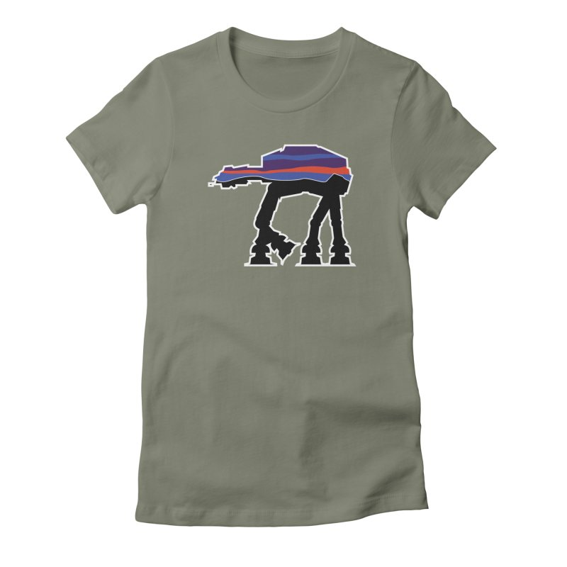 Walking thing.. Women's Fitted T-Shirt by Mike Hampton's T-Shirt Shop