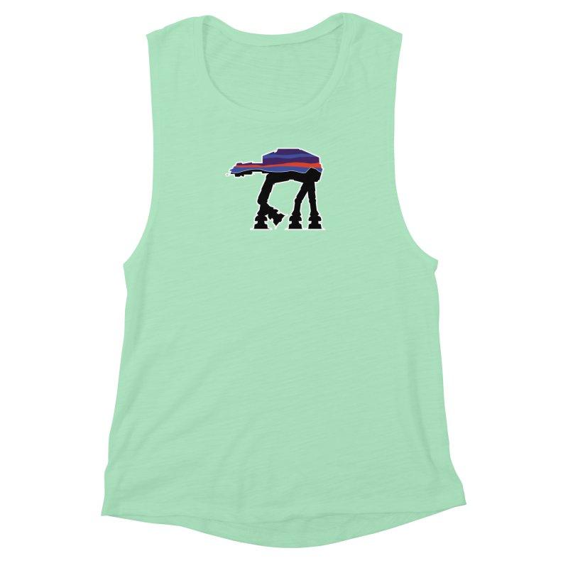 Walking thing.. Women's Muscle Tank by Mike Hampton's T-Shirt Shop
