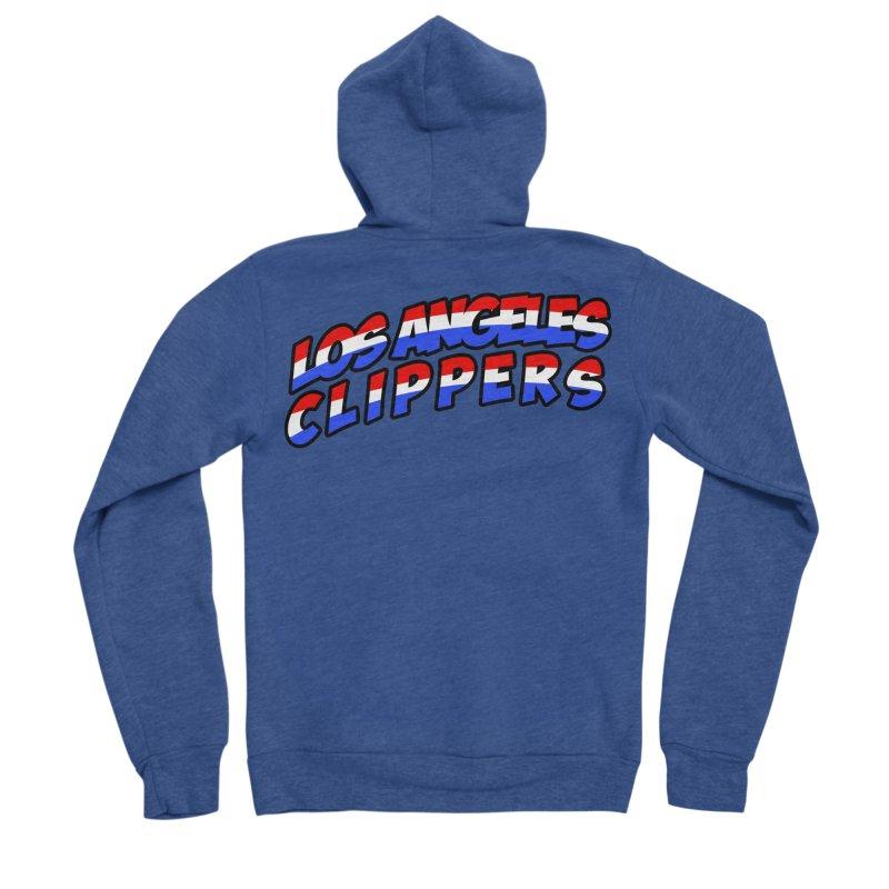The Other Team in LA Women's Sponge Fleece Zip-Up Hoody by Mike Hampton's T-Shirt Shop