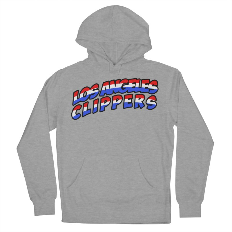The Other Team in LA Men's French Terry Pullover Hoody by Mike Hampton's T-Shirt Shop
