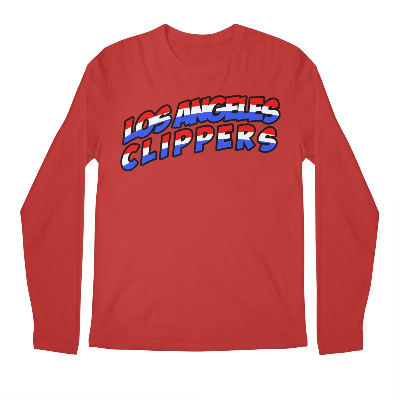 The Other Team in LA Men's Regular Longsleeve T-Shirt by Mike Hampton's T-Shirt Shop