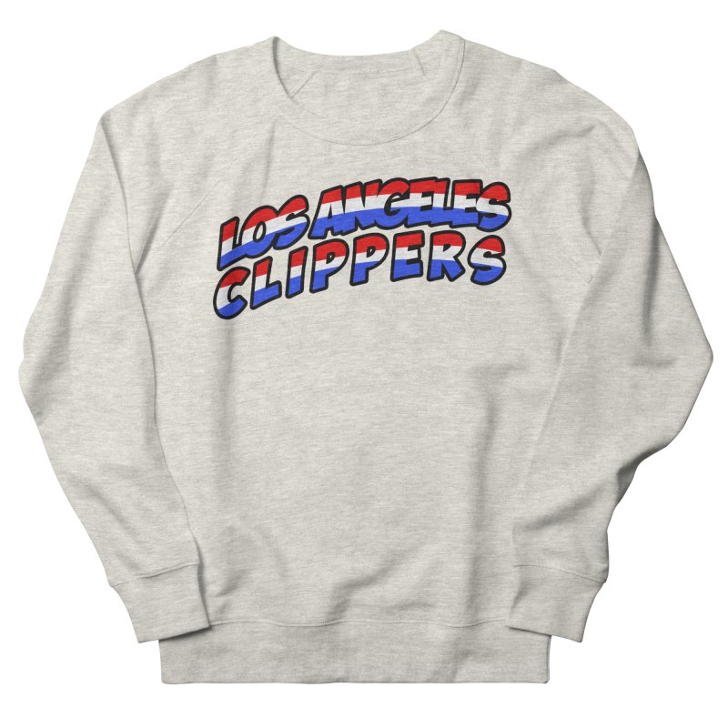 The Other Team in LA Men's French Terry Sweatshirt by Mike Hampton's T-Shirt Shop