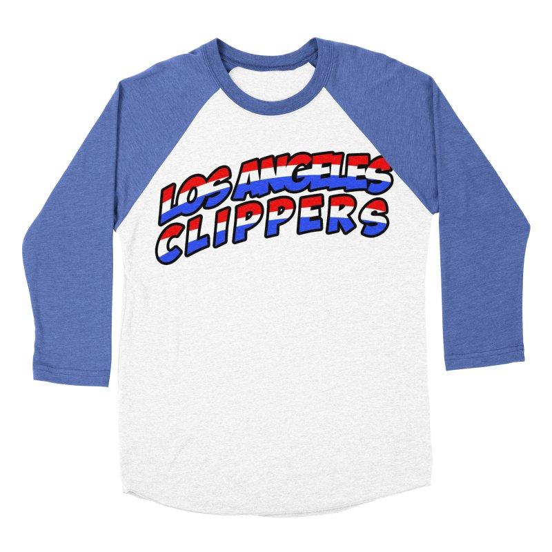 The Other Team in LA Women's Baseball Triblend Longsleeve T-Shirt by Mike Hampton's T-Shirt Shop