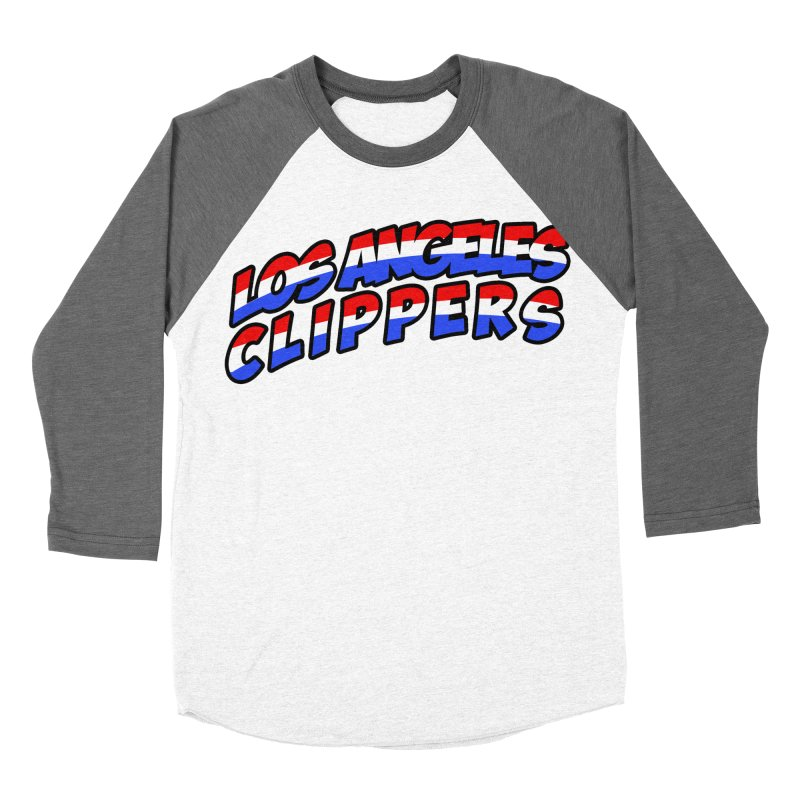 The Other Team in LA Men's Baseball Triblend Longsleeve T-Shirt by Mike Hampton's T-Shirt Shop