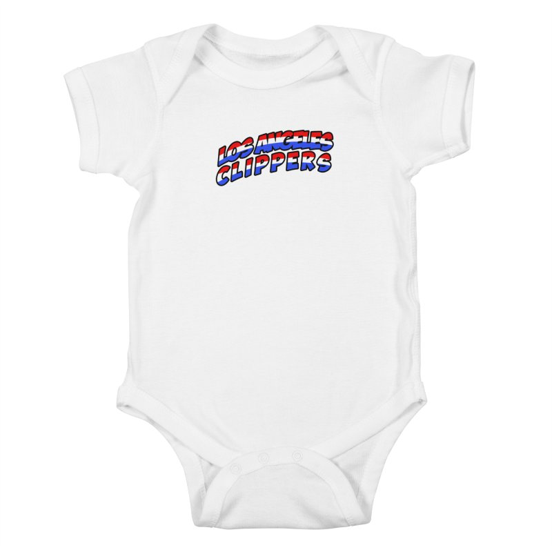 The Other Team in LA Kids Baby Bodysuit by Mike Hampton's T-Shirt Shop