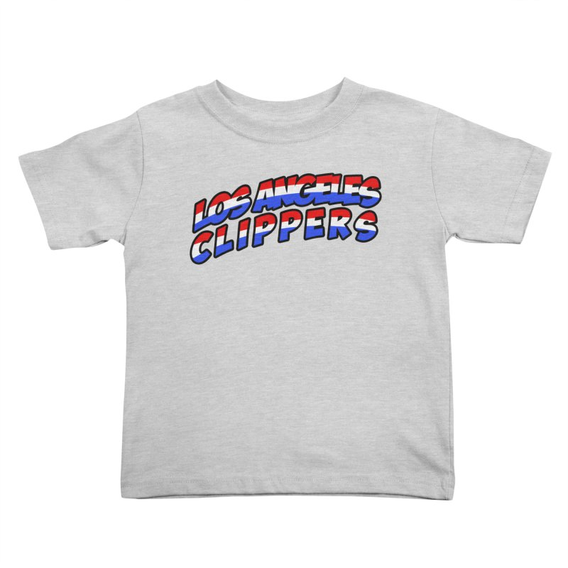 The Other Team in LA Kids Toddler T-Shirt by Mike Hampton's T-Shirt Shop