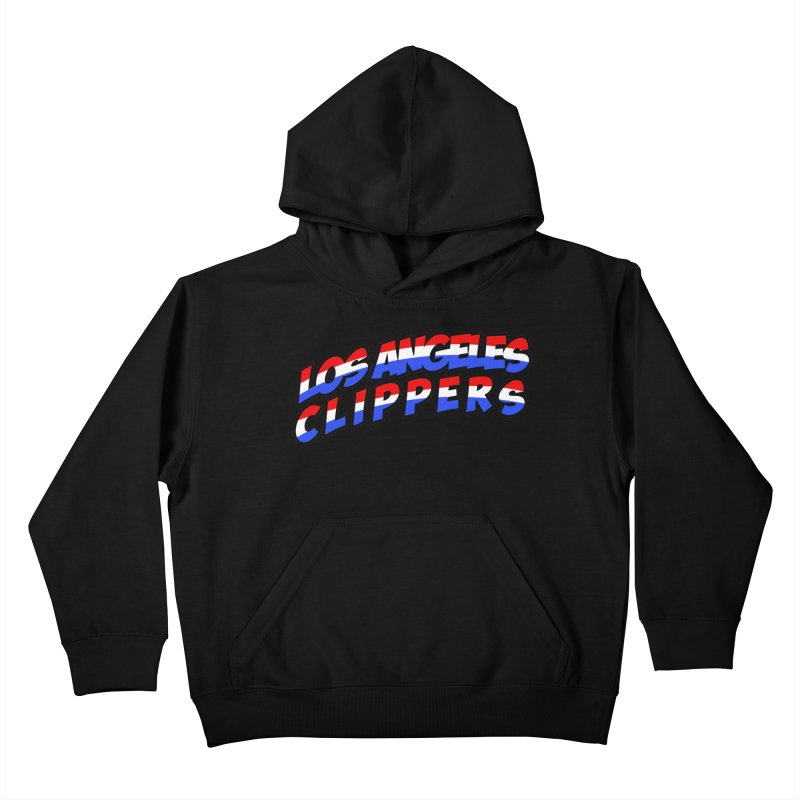 The Other Team in LA Kids Pullover Hoody by Mike Hampton's T-Shirt Shop