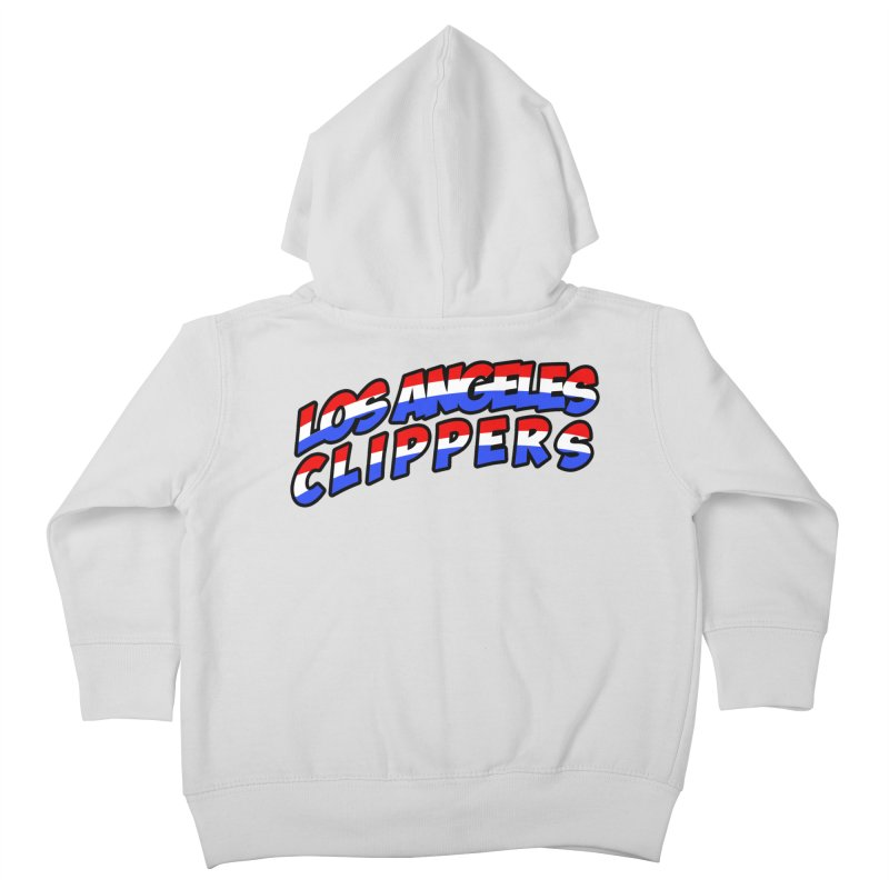 The Other Team in LA Kids Toddler Zip-Up Hoody by Mike Hampton's T-Shirt Shop