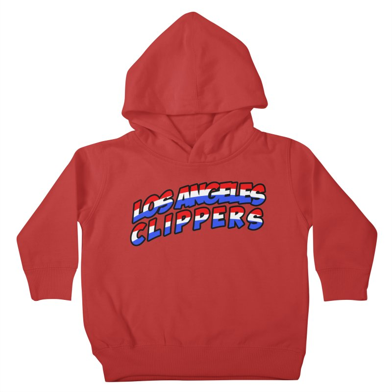 The Other Team in LA Kids Toddler Pullover Hoody by Mike Hampton's T-Shirt Shop