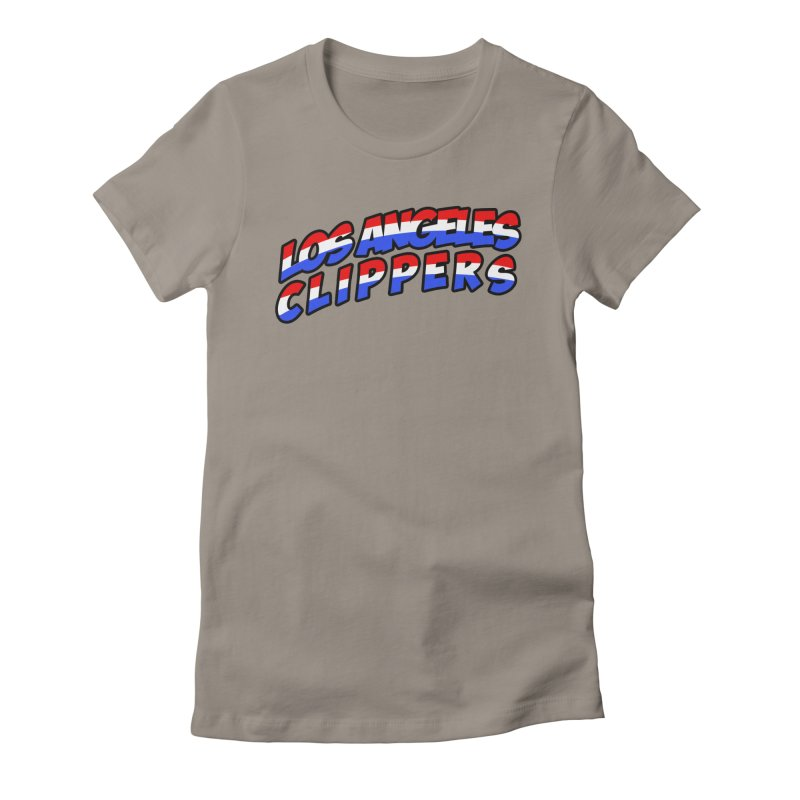The Other Team in LA Women's Fitted T-Shirt by Mike Hampton's T-Shirt Shop