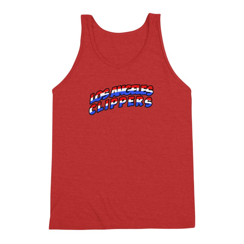 The Other Team in LA Men's Triblend Tank by Mike Hampton's T-Shirt Shop