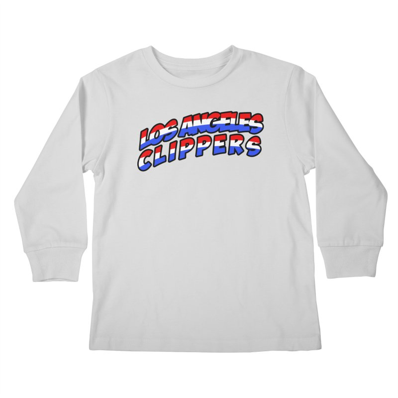 The Other Team in LA Kids Longsleeve T-Shirt by Mike Hampton's T-Shirt Shop