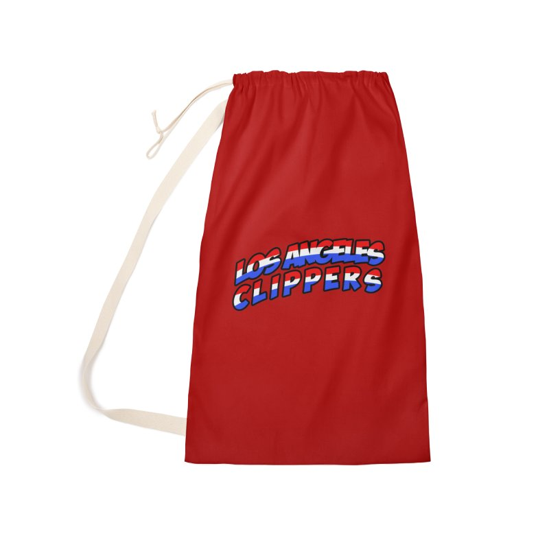 The Other Team in LA Accessories Laundry Bag Bag by Mike Hampton's T-Shirt Shop