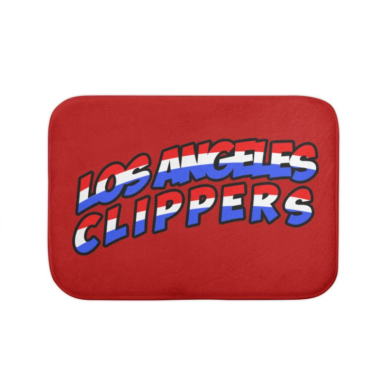 The Other Team in LA Home Bath Mat by Mike Hampton's T-Shirt Shop