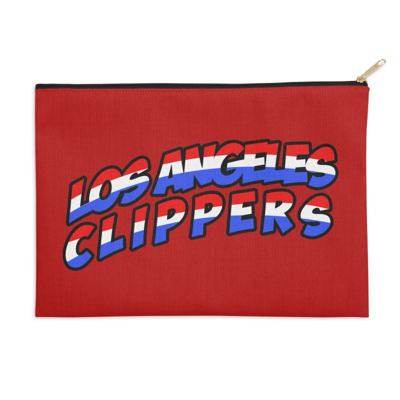 The Other Team in LA Accessories Zip Pouch by Mike Hampton's T-Shirt Shop