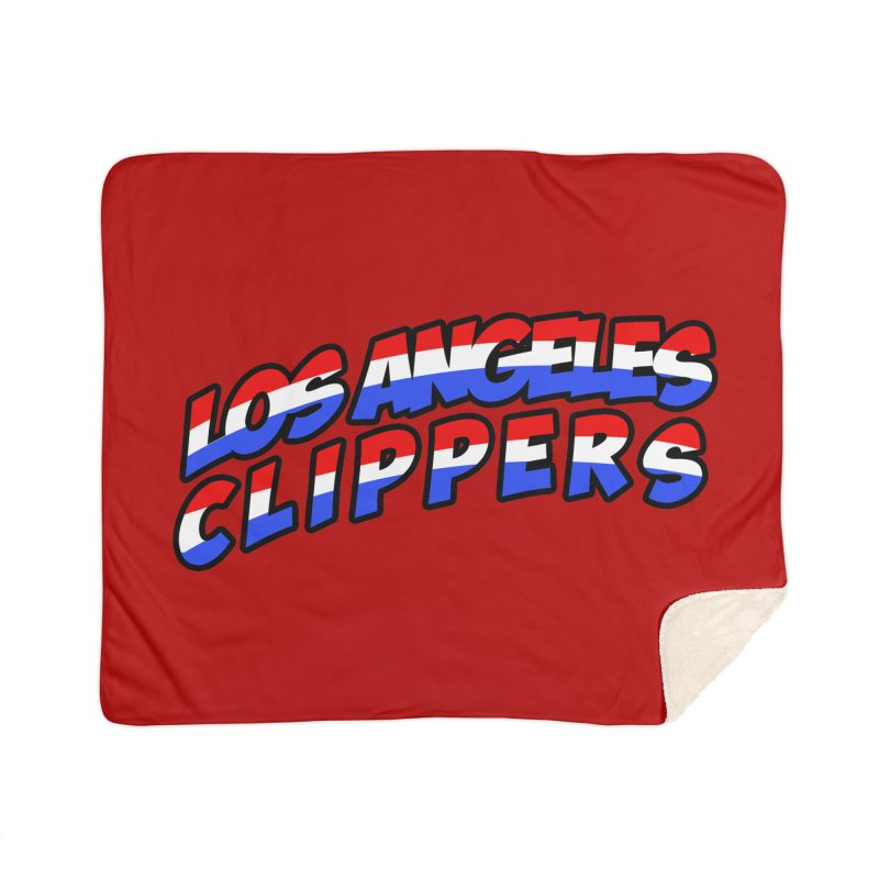 The Other Team in LA Home Sherpa Blanket Blanket by Mike Hampton's T-Shirt Shop