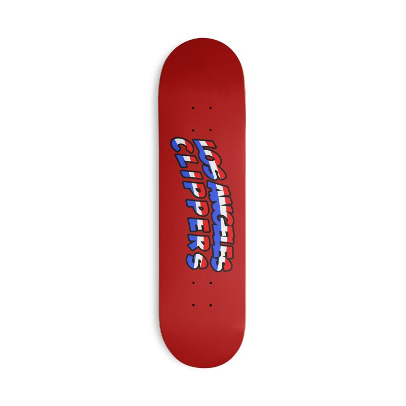 The Other Team in LA Accessories Deck Only Skateboard by Mike Hampton's T-Shirt Shop