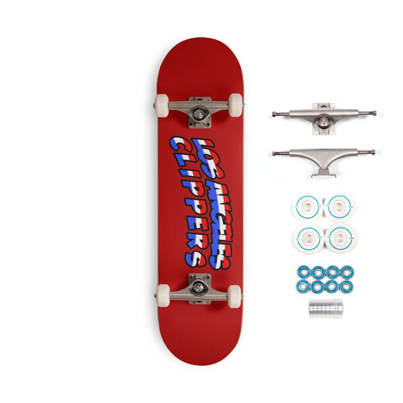 The Other Team in LA Accessories Skateboard by Mike Hampton's T-Shirt Shop