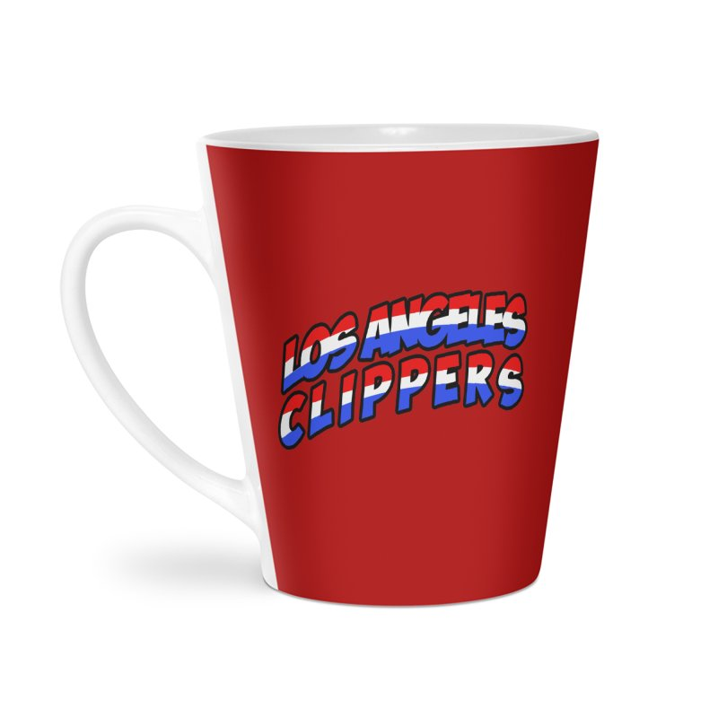 The Other Team in LA Accessories Latte Mug by Mike Hampton's T-Shirt Shop