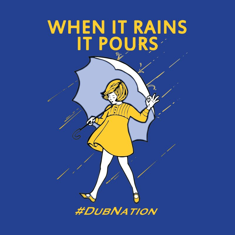 In the Bay When it Rains, it Pours Home Duvet by Mike Hampton's T-Shirt Shop