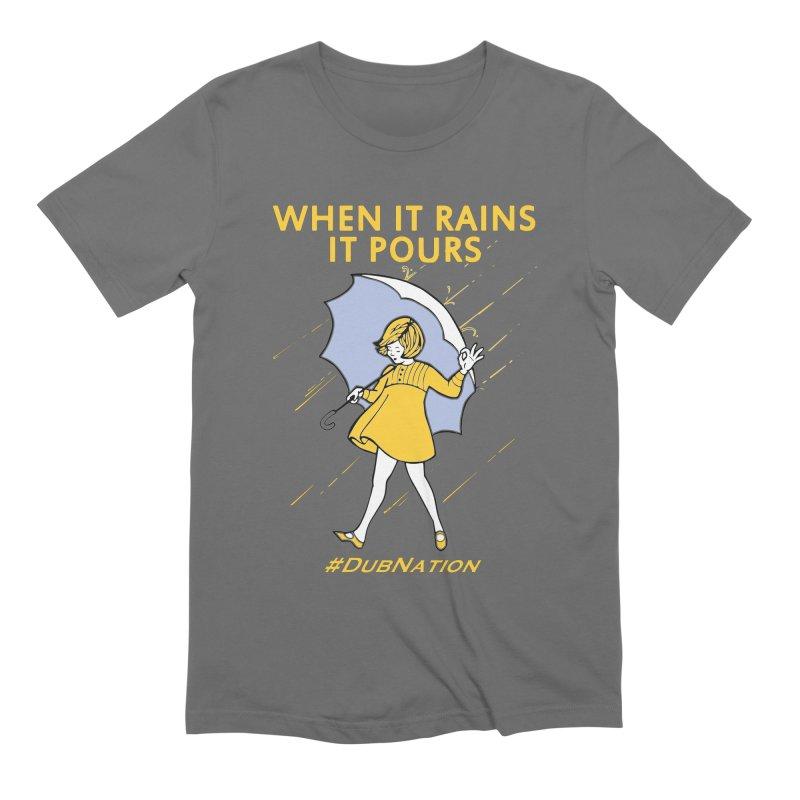 In the Bay When it Rains, it Pours Men's T-Shirt by Mike Hampton's T-Shirt Shop