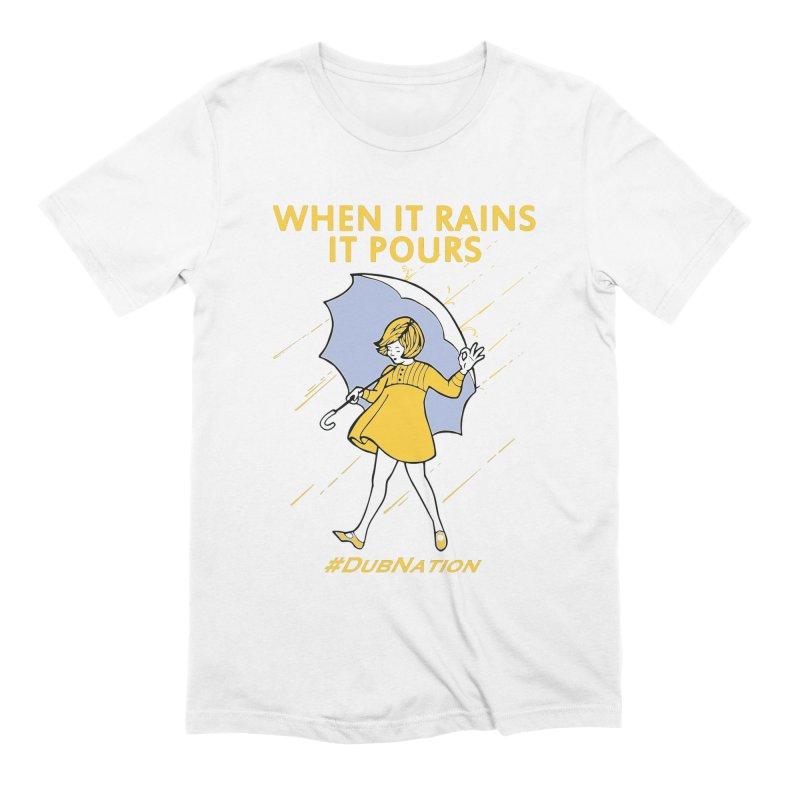 In the Bay When it Rains, it Pours Men's Extra Soft T-Shirt by Mike Hampton's T-Shirt Shop