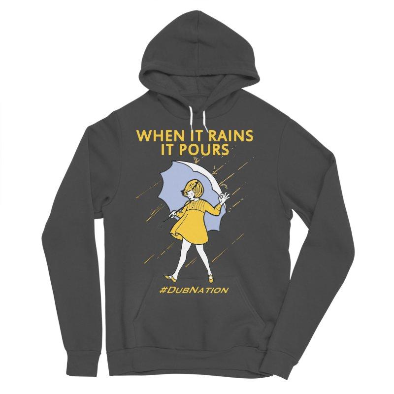 In the Bay When it Rains, it Pours Men's Sponge Fleece Pullover Hoody by Mike Hampton's T-Shirt Shop