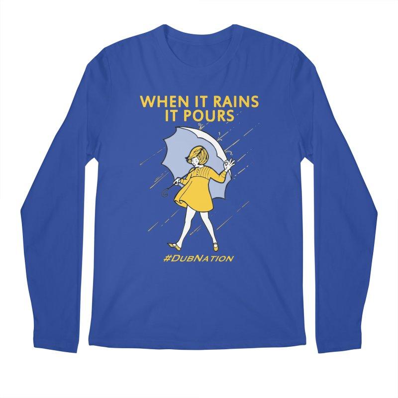 In the Bay When it Rains, it Pours Men's Regular Longsleeve T-Shirt by Mike Hampton's T-Shirt Shop