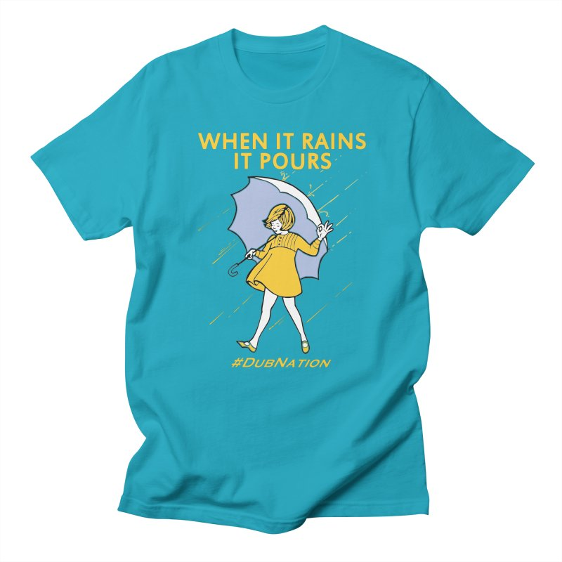 In the Bay When it Rains, it Pours Men's T-Shirt by Mike Hampton's T-Shirt Shop