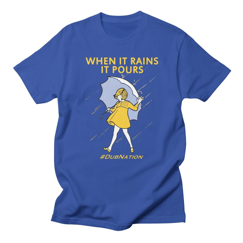 In the Bay When it Rains, it Pours Men's Regular T-Shirt by Mike Hampton's T-Shirt Shop