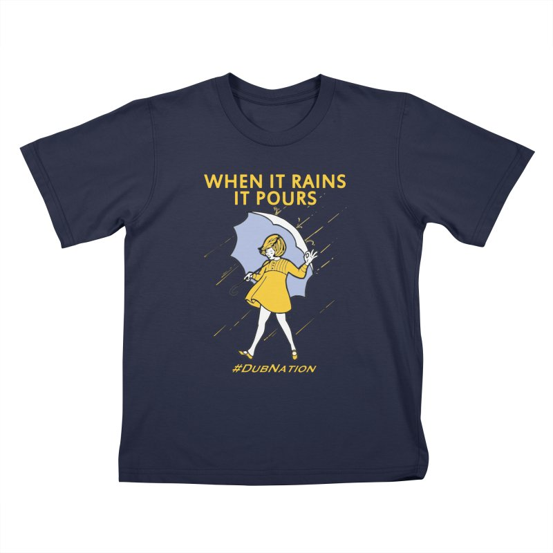 In the Bay When it Rains, it Pours Kids T-Shirt by Mike Hampton's T-Shirt Shop