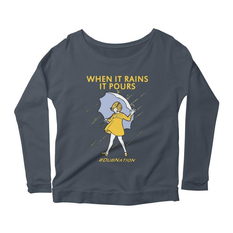 In the Bay When it Rains, it Pours Women's Longsleeve T-Shirt by Mike Hampton's T-Shirt Shop