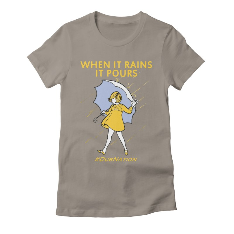 In the Bay When it Rains, it Pours Women's T-Shirt by Mike Hampton's T-Shirt Shop