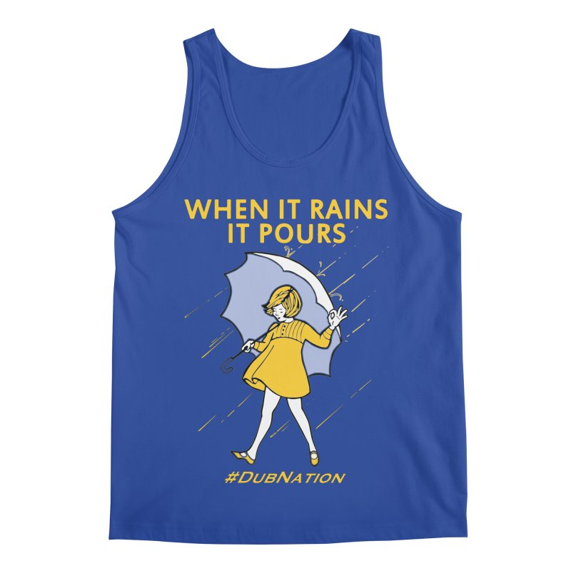 In the Bay When it Rains, it Pours Men's Tank by Mike Hampton's T-Shirt Shop