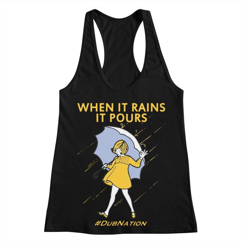 In the Bay When it Rains, it Pours Women's Racerback Tank by Mike Hampton's T-Shirt Shop