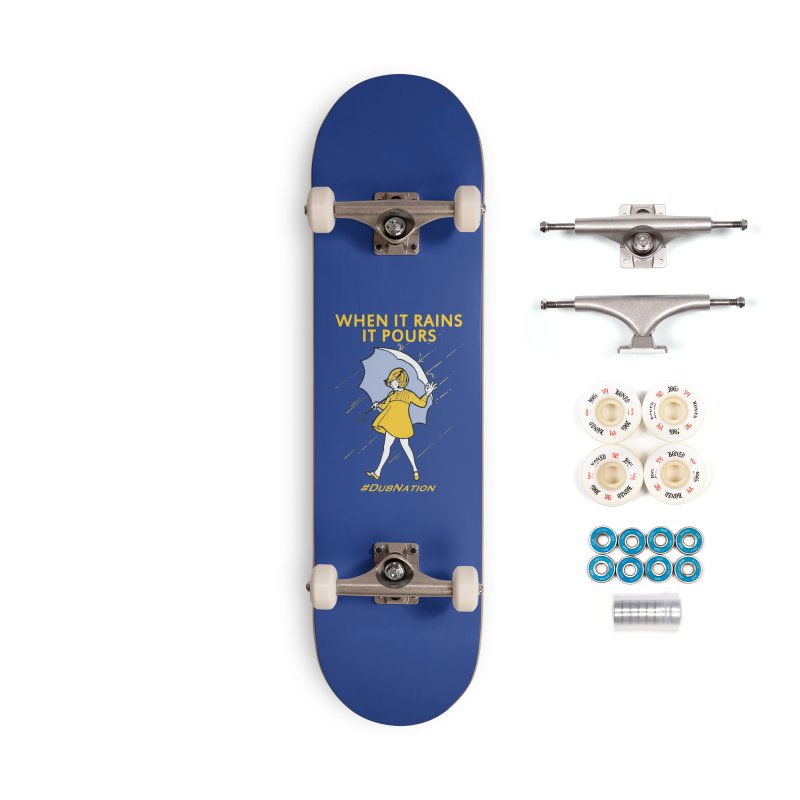 In the Bay When it Rains, it Pours Accessories Complete - Premium Skateboard by Mike Hampton's T-Shirt Shop