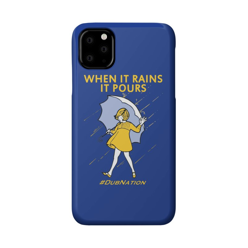 In the Bay When it Rains, it Pours Accessories Phone Case by Mike Hampton's T-Shirt Shop