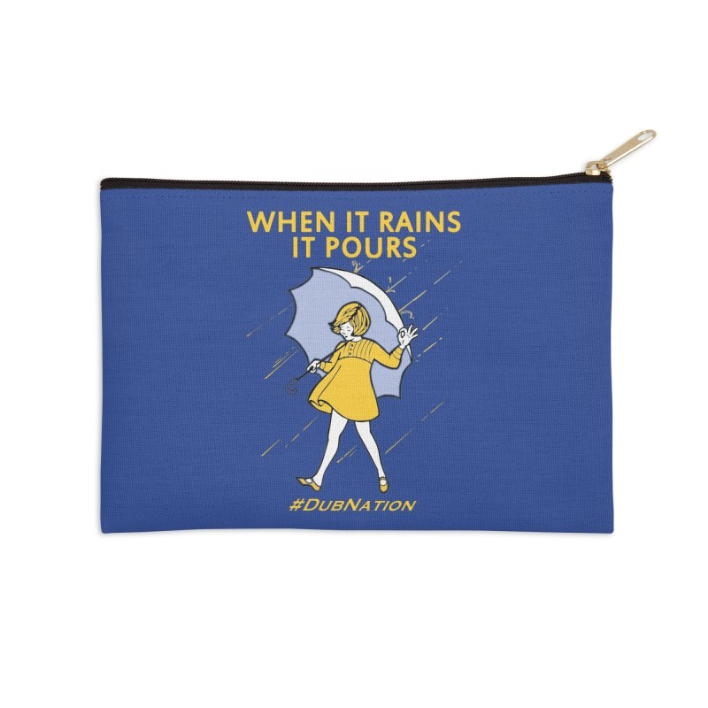 In the Bay When it Rains, it Pours Accessories Zip Pouch by Mike Hampton's T-Shirt Shop