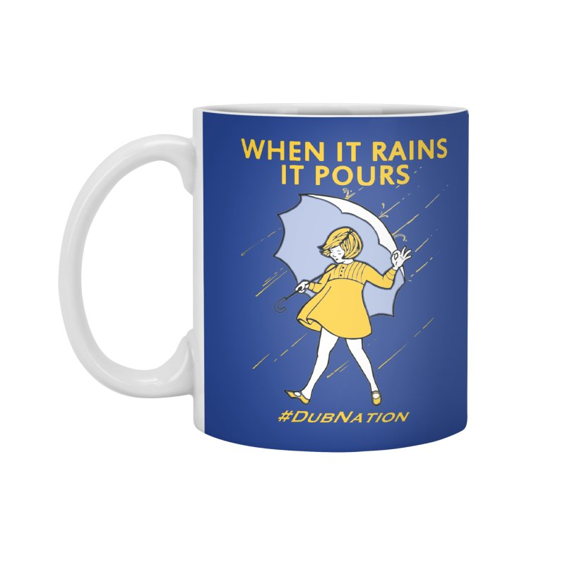 In the Bay When it Rains, it Pours Accessories Standard Mug by Mike Hampton's T-Shirt Shop