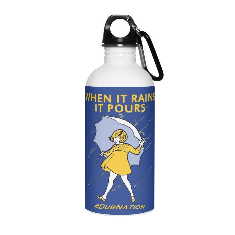 In the Bay When it Rains, it Pours Accessories Water Bottle by Mike Hampton's T-Shirt Shop