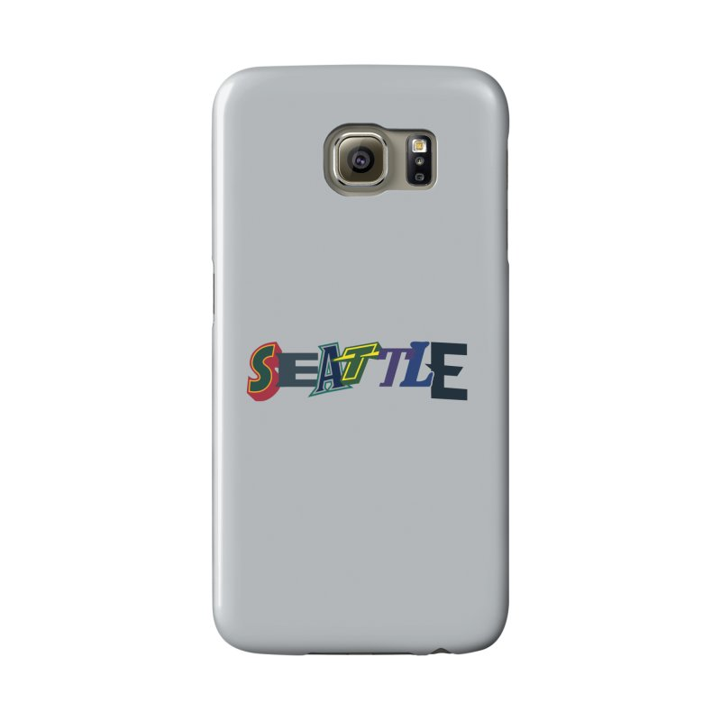 All Things Seattle Accessories Phone Case by Mike Hampton's T-Shirt Shop
