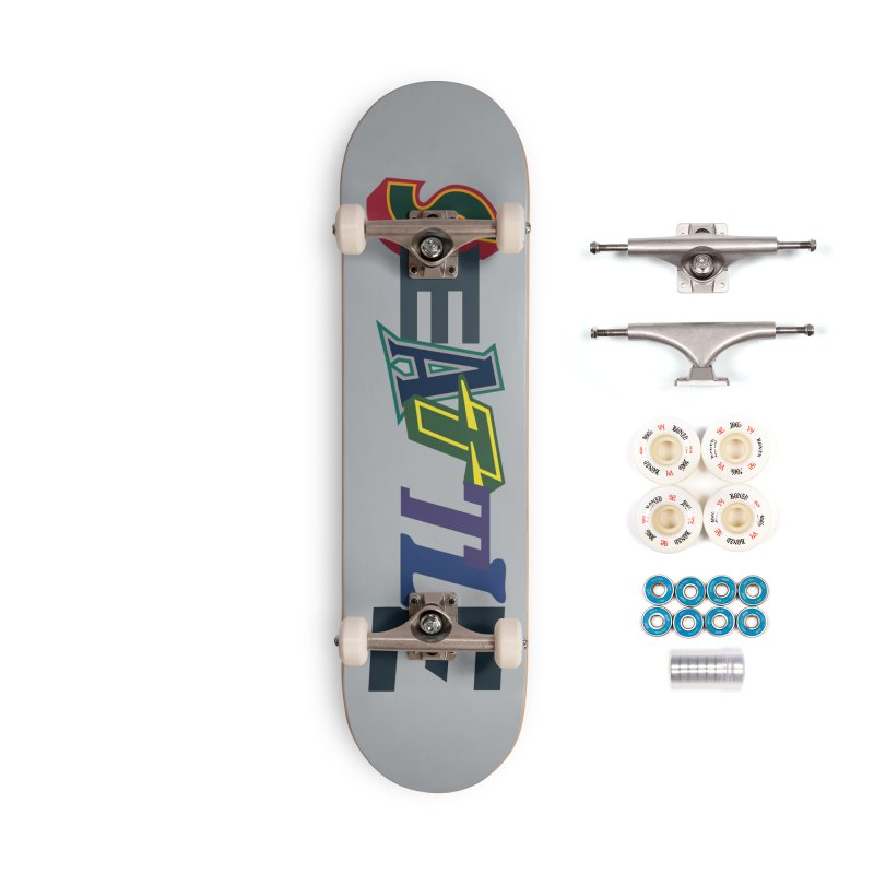 All Things Seattle Accessories Complete - Premium Skateboard by Mike Hampton's T-Shirt Shop