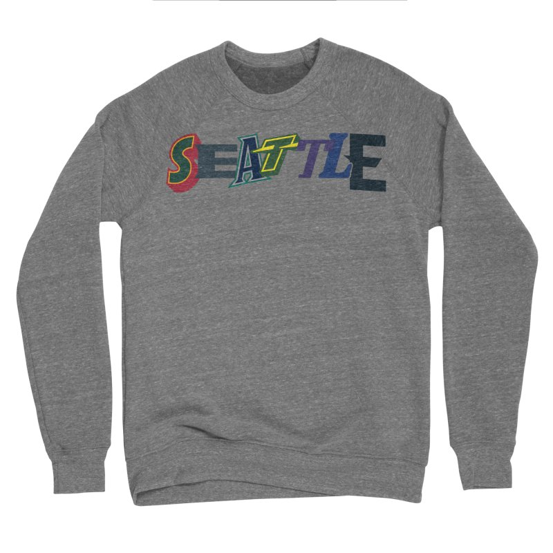 All Things Seattle Men's Sweatshirt by Mike Hampton's T-Shirt Shop