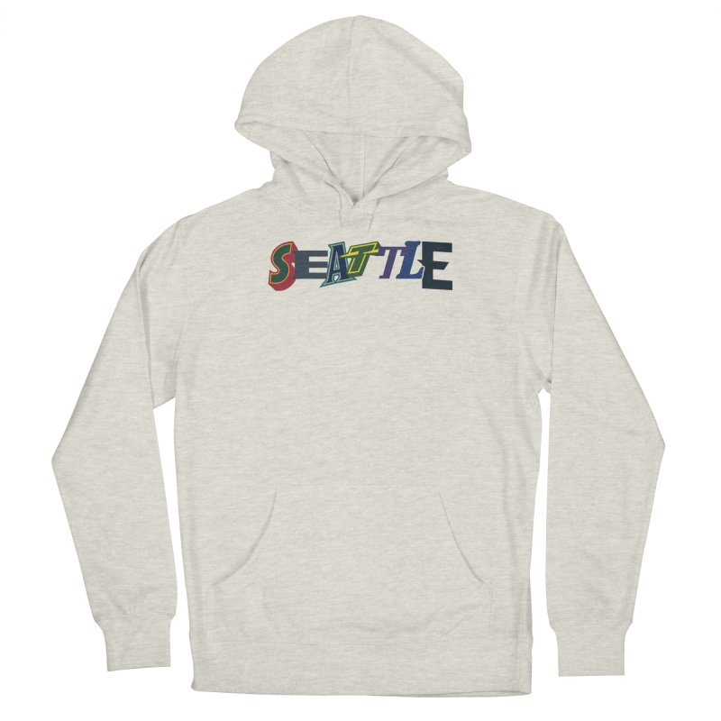 All Things Seattle Men's Pullover Hoody by Mike Hampton's T-Shirt Shop