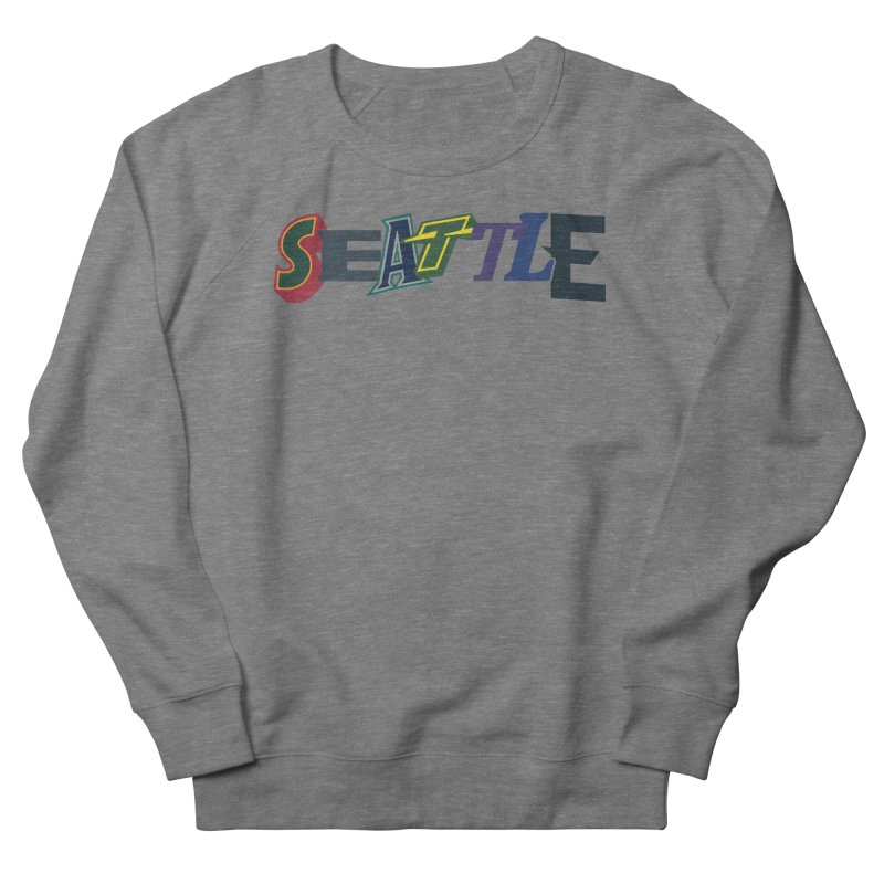 All Things Seattle Men's Sweatshirt by Mike Hampton's T-Shirt Shop
