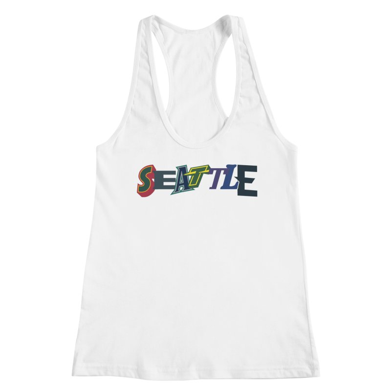 All Things Seattle Women's Tank by Mike Hampton's T-Shirt Shop