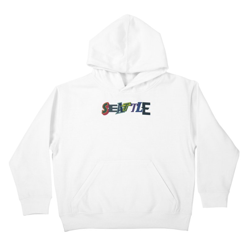All Things Seattle Kids Pullover Hoody by Mike Hampton's T-Shirt Shop