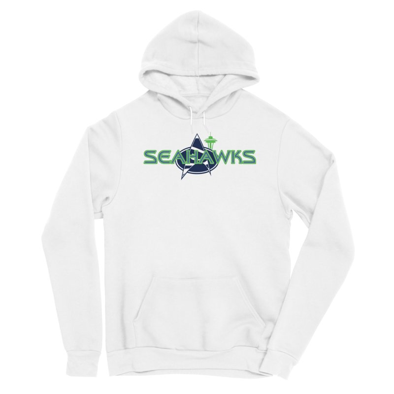 Seattle, the Final Frontier Women's Pullover Hoody by Mike Hampton's T-Shirt Shop