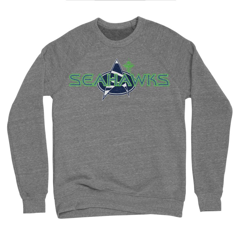 Seattle, the Final Frontier Men's Sweatshirt by Mike Hampton's T-Shirt Shop